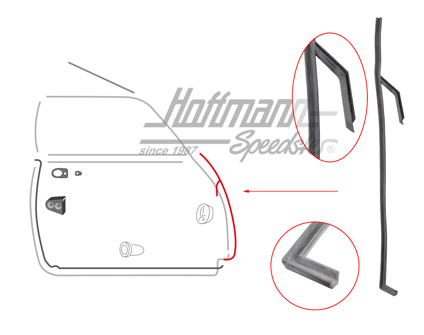 2x Hofmann type 706 MOTO-Adhésif Poids Plomb 40 G chromé /> 980210-2 /<