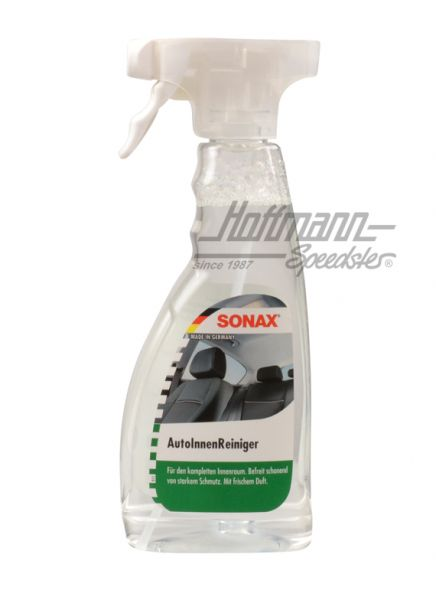 Sonax nettoyant pour int rieur de voiture 500 ml a rosol for Produit entretien interieur voiture